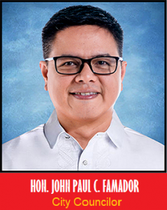 Councilor John Paul C. Famador