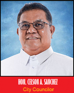 Councilor Celson A. Sanchez