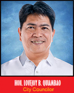Councilor Lovejoy B. Quiambao